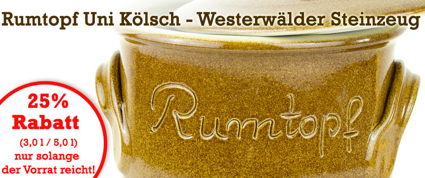 Rumtopf Uni Koelsch