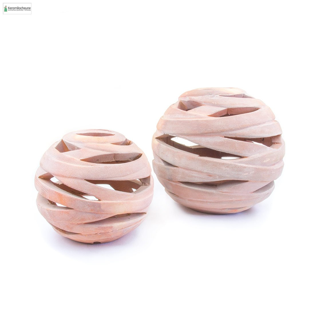 kugel dekokugel gartendeko terracotta kaufen onlineshop keramikscheune spickendorf. Black Bedroom Furniture Sets. Home Design Ideas