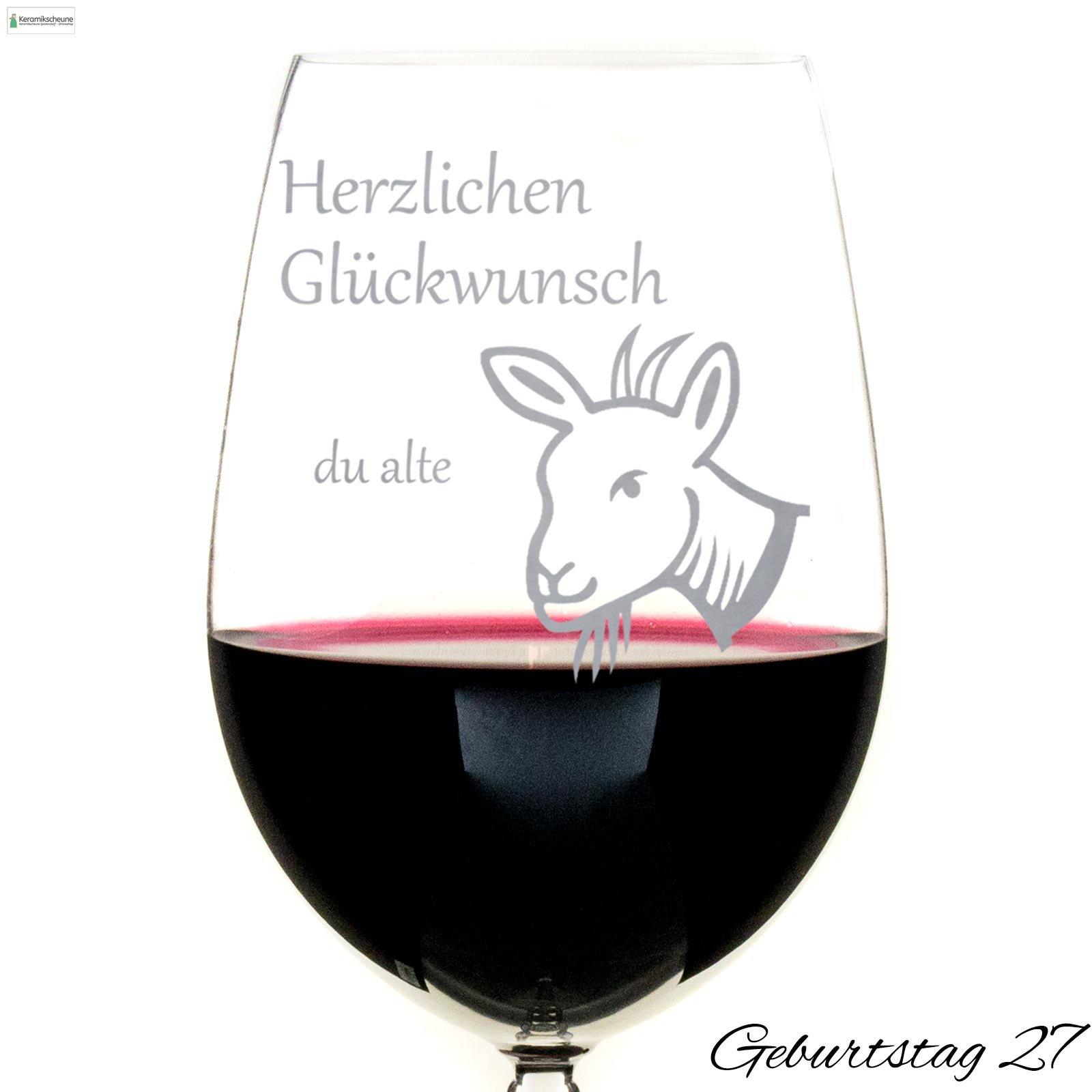 Rotweinglas Gravur Zum Geburtstag Kaufen Onlineshop Keramikscheune