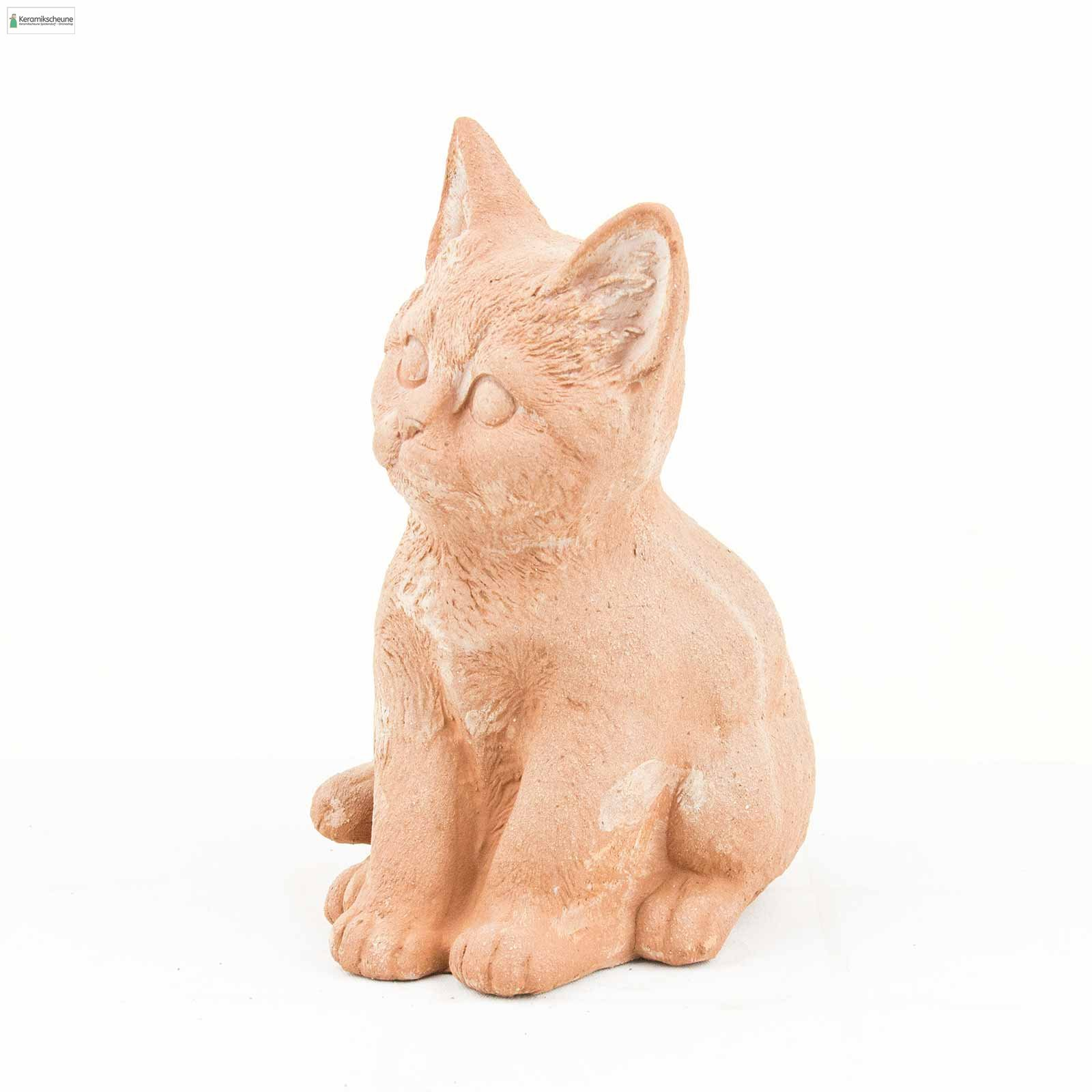 Dekofigur Katze Kaufen Onlineshop Keramikscheune Spickendorf