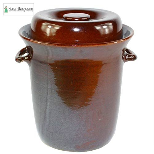 g rtopf kimchi topf 10l steinzeug kaufen onlineshop keramikscheune spickendorf. Black Bedroom Furniture Sets. Home Design Ideas