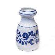 Vase bauchig Grau-Blau - Westerwälder Steinzeug