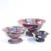 Schale mit Fuß Rose - Otto Keramik