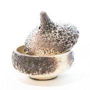 Konfektdose mit Deckel Krater - Otto Keramik