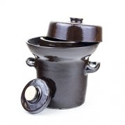 Gärtopf Kimchi Topf 0,75L - Steinzeug