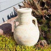 Amphore Wasserspender mit Henkel H 22cm Terracotta Tunesien