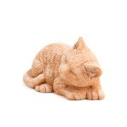 Dekofigur Katze / Katzenpaar - Terracotta in Impruneta-Qualität