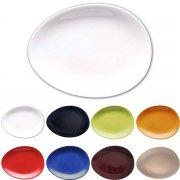 Teller oval in verschiedenen Farben - Colani Porzellan Kollektion