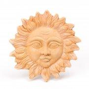Wanddeko Sonne  D 18cm/ 25cm/ 32cm - Terracotta in Impruneta-Qualität aus Italien