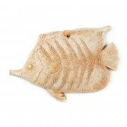 Gartendeko Wandbild Fisch - Terracotta in Impruneta Qualität aus Italien