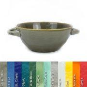Suppentasse aus Steinzeug in verschiedenen Farben - Rose & Tulipani