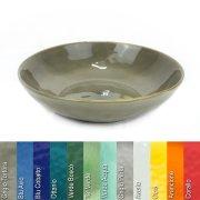 Suppenteller aus Steinzeug in verschiedenen Farben - Rose & Tulipani