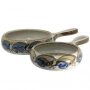 Auflaufform rund - Heyde Keramik Steinzeug