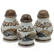 Gewürzstreuer (z.B. Salzstreuer oder Pfefferstreuer) - Heyde Keramik Steinzeug