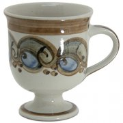 Kaffeetasse mit Fuß - Heyde Keramik Steinzeug