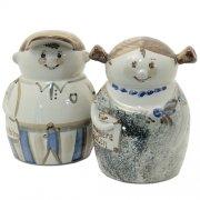 Spardose Junge Mädchen - Heyde Keramik Steinzeug