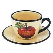 Kaffeetasse mit Untertasse Toscana - MAGU Cera Keramik
