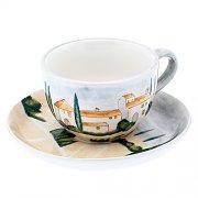 Kaffeetasse mit Untertasse - Siena MAGU Cera Keramik