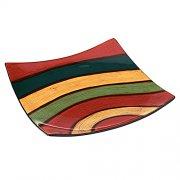 Schale eckig 23cm Samba - MAGU Cera Keramik