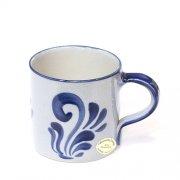Kaffeebecher Kaffeetasse Grau-Blau - Westerwälder Steinzeug